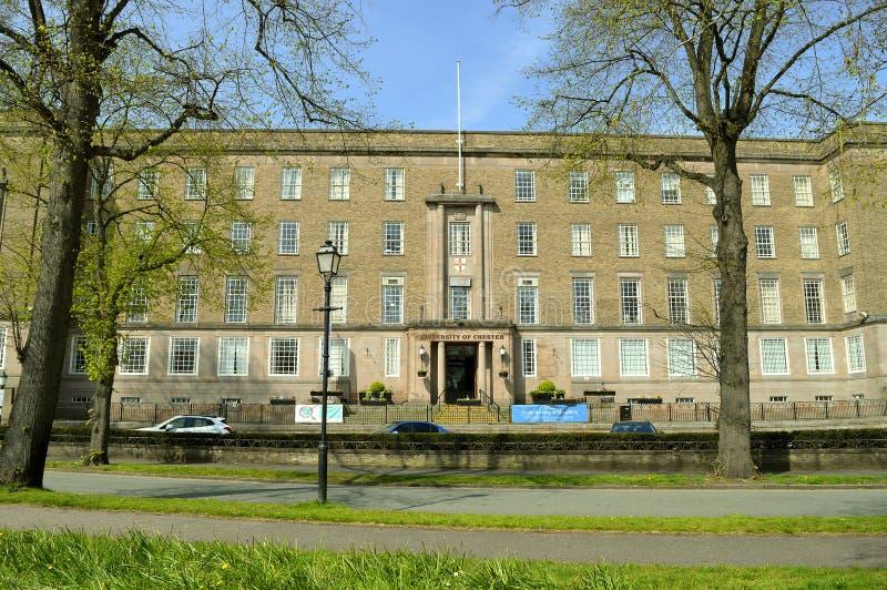 Università di Chester Riverside Campus immagini stock