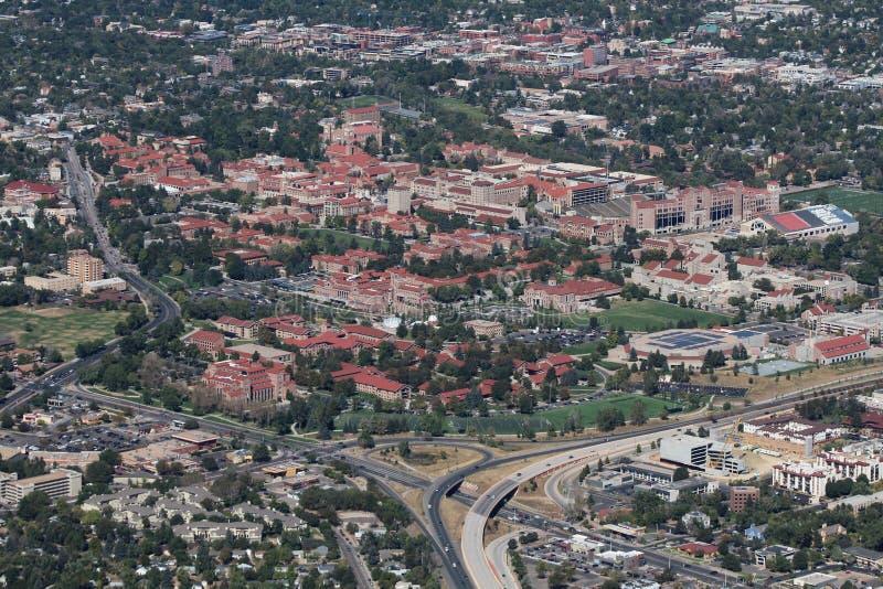 Università di colorado Boulder fotografie stock