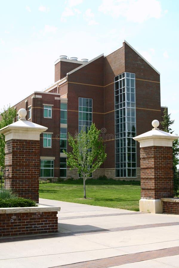 Università di Colorado del Nord fotografia stock