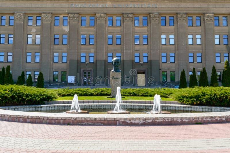 Università di Daugavpils di Lettonia fotografie stock libere da diritti