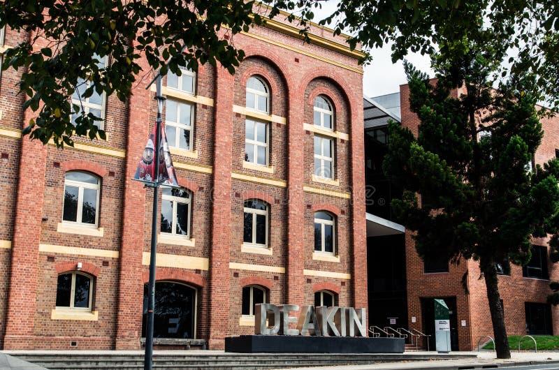 Università di Deakin in Geelong fotografia stock libera da diritti