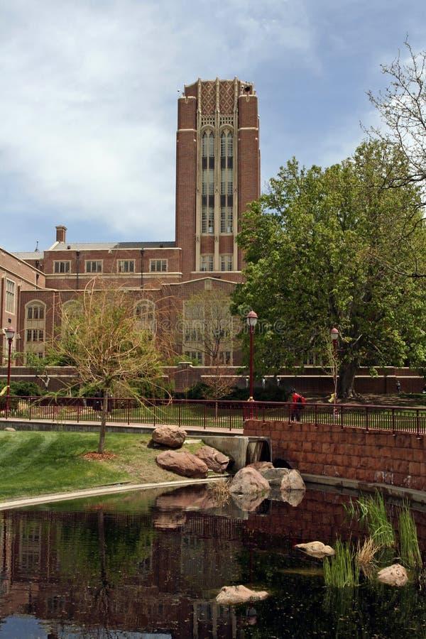 Università di Denver fotografia stock