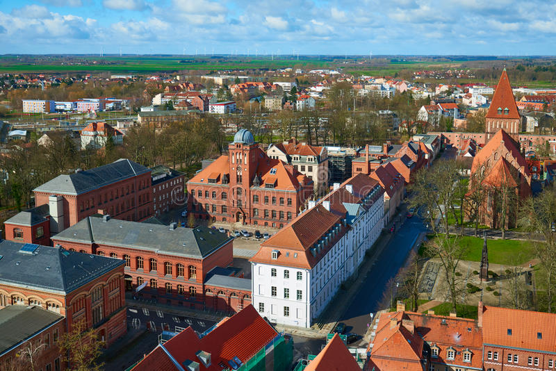 Università di Greifswald Greifswald immagine stock