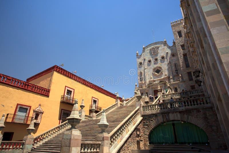 Università di Guanajuato immagini stock