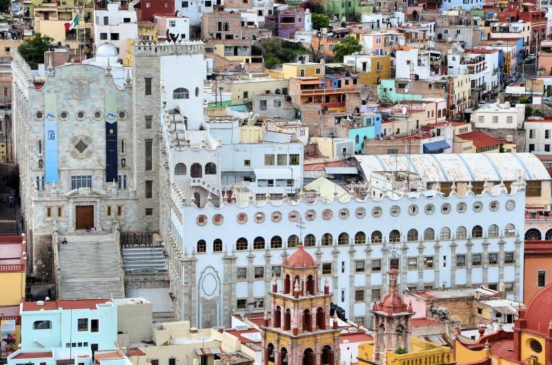 Università di Guanajuato immagine stock