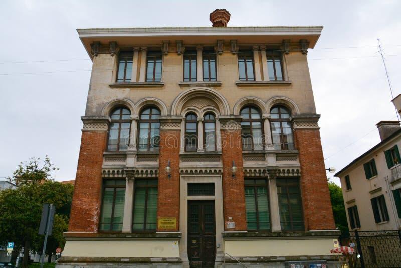 Università di Jacopo Riccati, Treviso, Italia fotografia stock