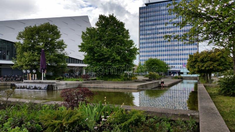 Università di Kiel fotografie stock libere da diritti