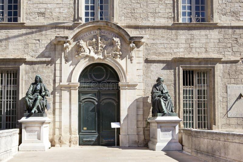 Università di medicina su Montpellier fotografia stock