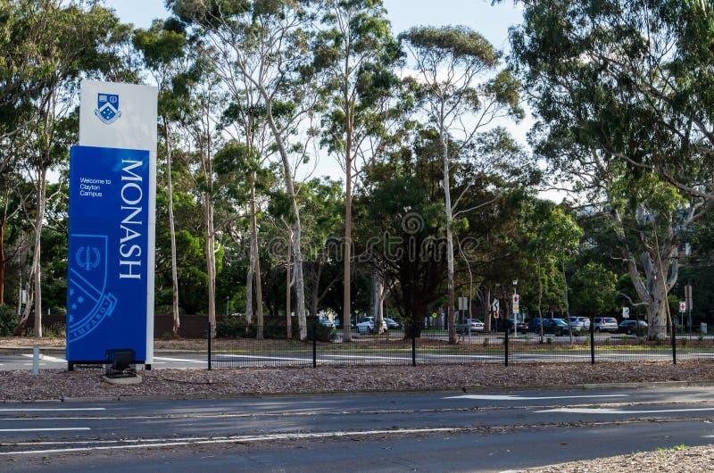 Università di Monash in Clayton fotografia stock