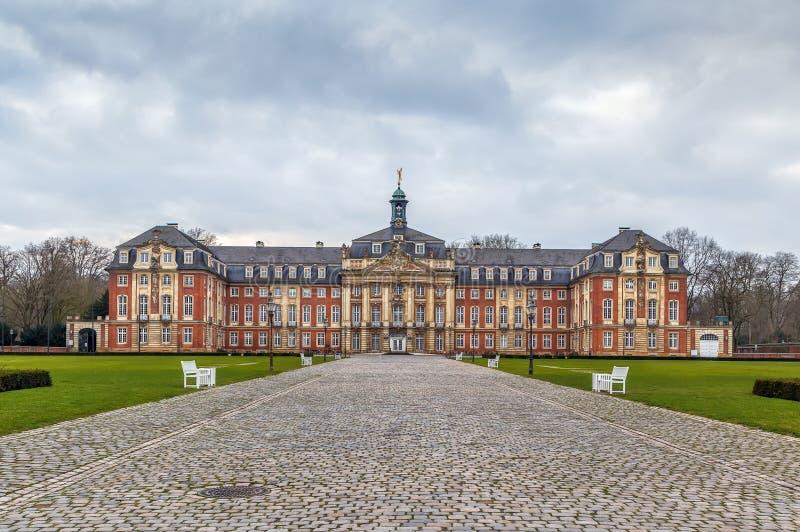 Università di Munster, Germania immagine stock