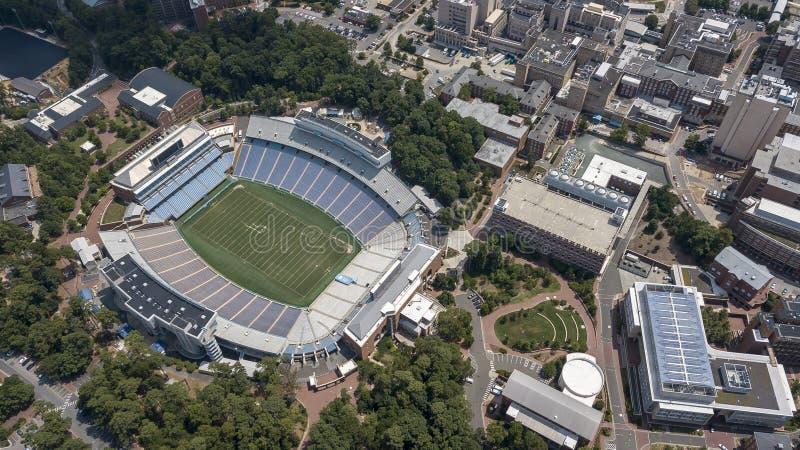 Università di Nord Carolina a Chapel Hill immagine stock