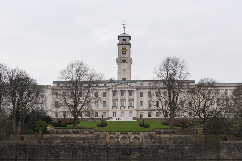 Università di Nottingham fotografia stock
