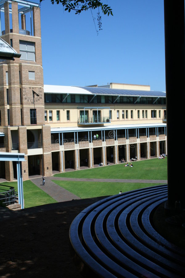 Università di Nuovo Galles del Sud immagini stock libere da diritti