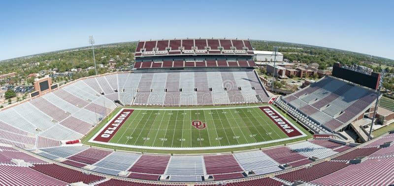 Università di Oklahoma immagine stock