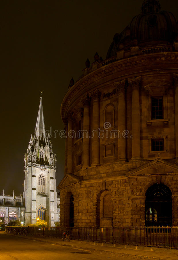 Università di Oxford immagini stock