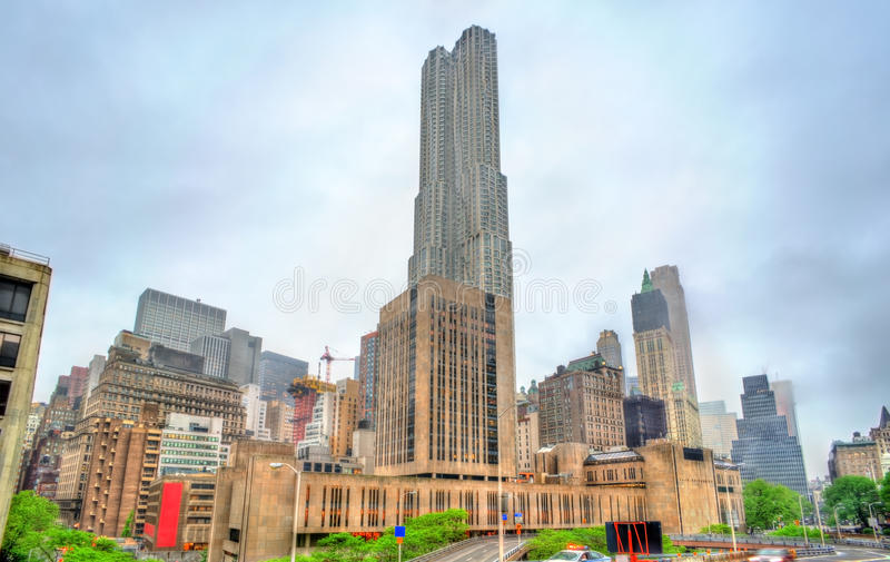 Università di passo in Manhattan, New York fotografie stock libere da diritti