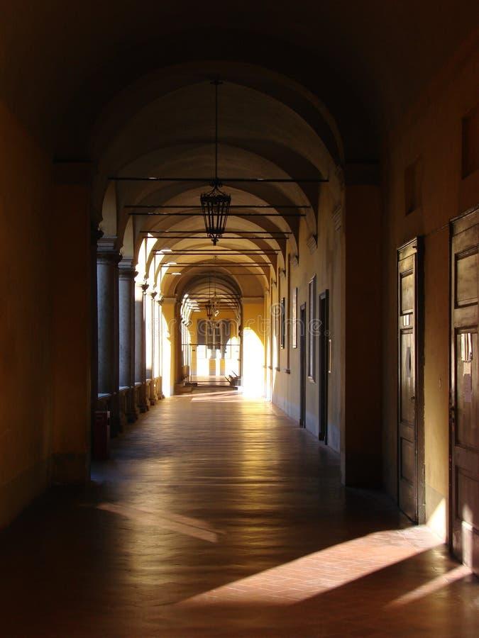 Università di Pavia immagini stock