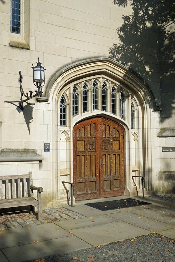 Università di Princeton - McCosh Hall fotografie stock libere da diritti