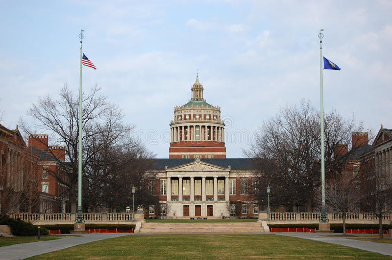Università di Rochester immagini stock libere da diritti
