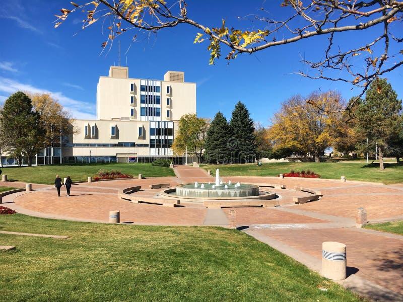 Università di Stato di Colorado, pueblo fotografia stock libera da diritti