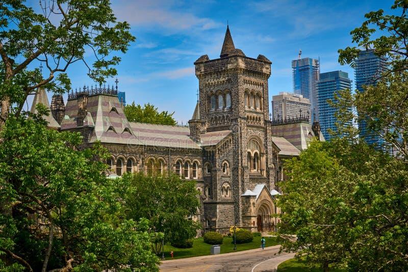 Università di Toronto - St George Campus fotografia stock libera da diritti
