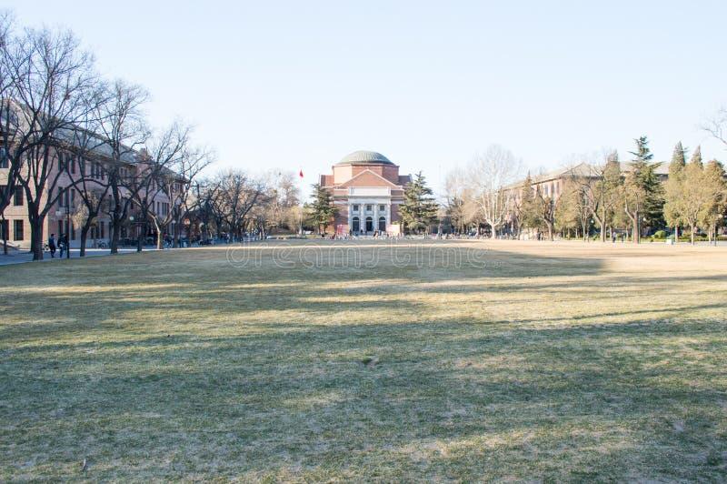 Università di Tsinghua fotografie stock libere da diritti