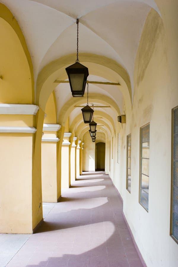 Università di Vilnius, Lituania immagini stock