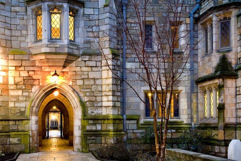 Università di Yale immagini stock libere da diritti