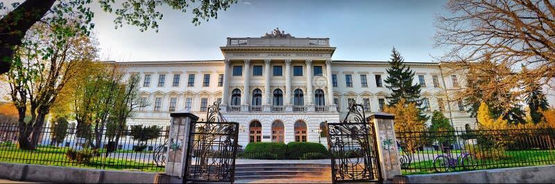 Università nazionale politecnica di Leopoli fotografia stock libera da diritti