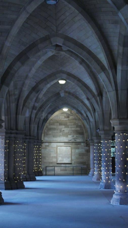 Università in Scozia immagini stock libere da diritti