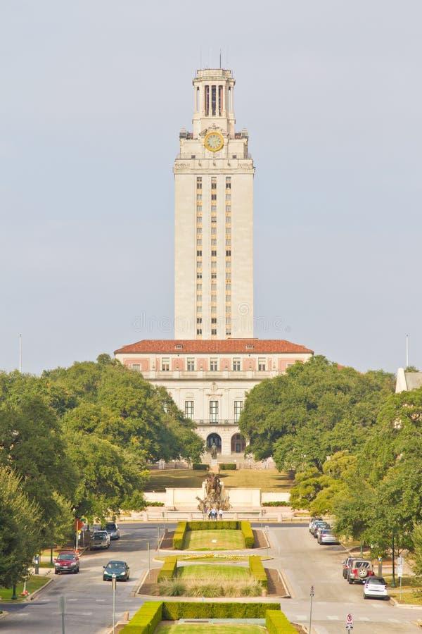 Universität des Texas-Kontrollturms lizenzfreie stockfotografie
