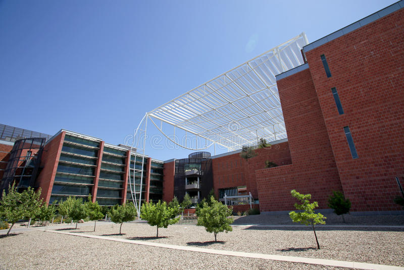 Universität Gebäudes des Arizona-Bio5 lizenzfreie stockbilder
