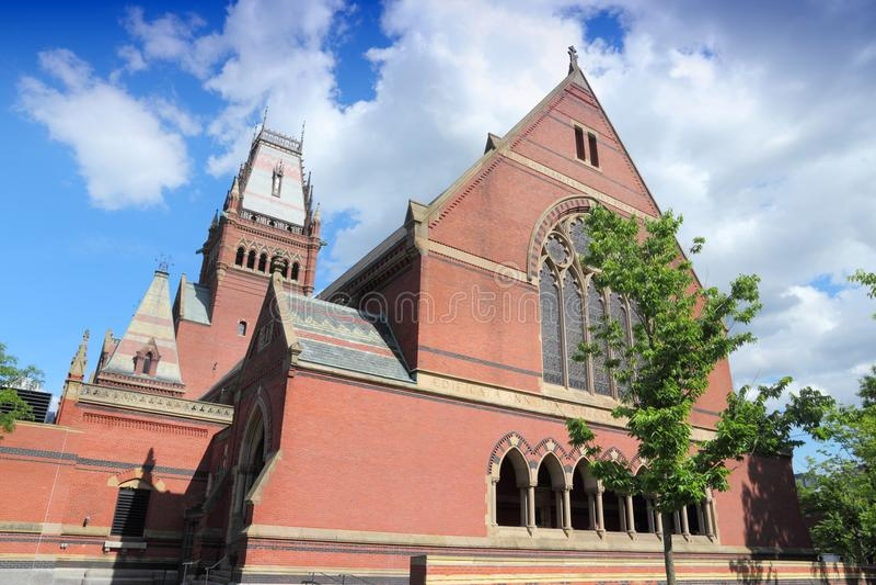 Universität Harvard stockbild