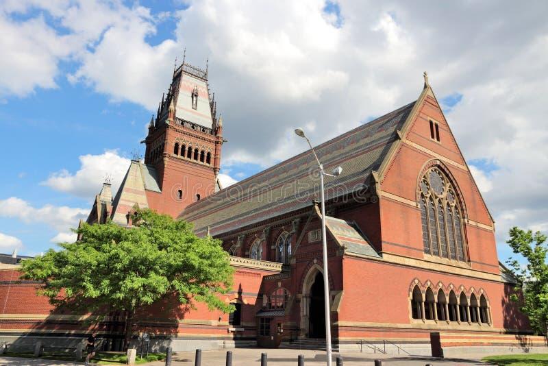Universität Harvard lizenzfreies stockbild