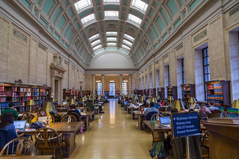 Universität- Harvardbibliothek lizenzfreie stockfotos