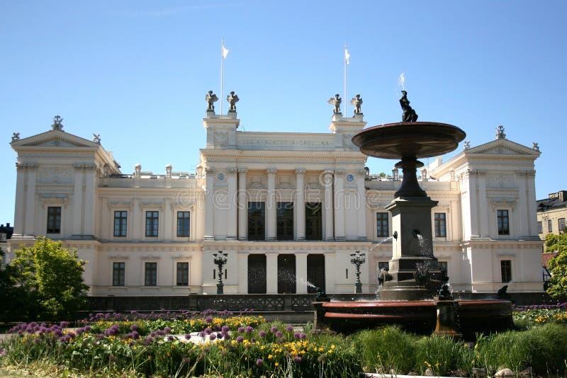 Universität in Lund lizenzfreies stockbild