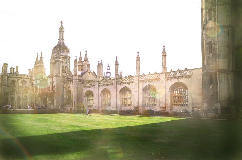 Universität von Cambridge lizenzfreie stockfotos