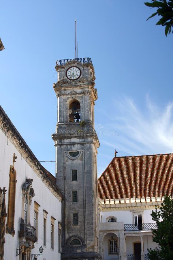 Universität von Coimbra stockbild