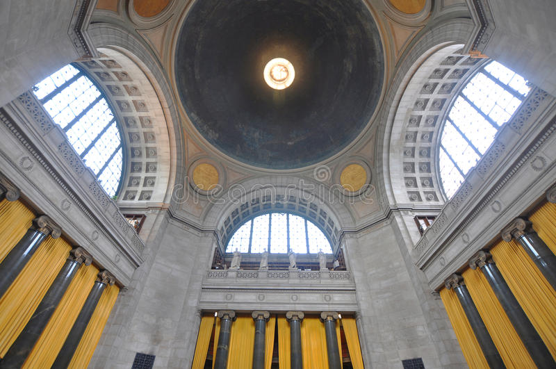 Universität von Columbias-Bibliothek in New York City lizenzfreies stockbild