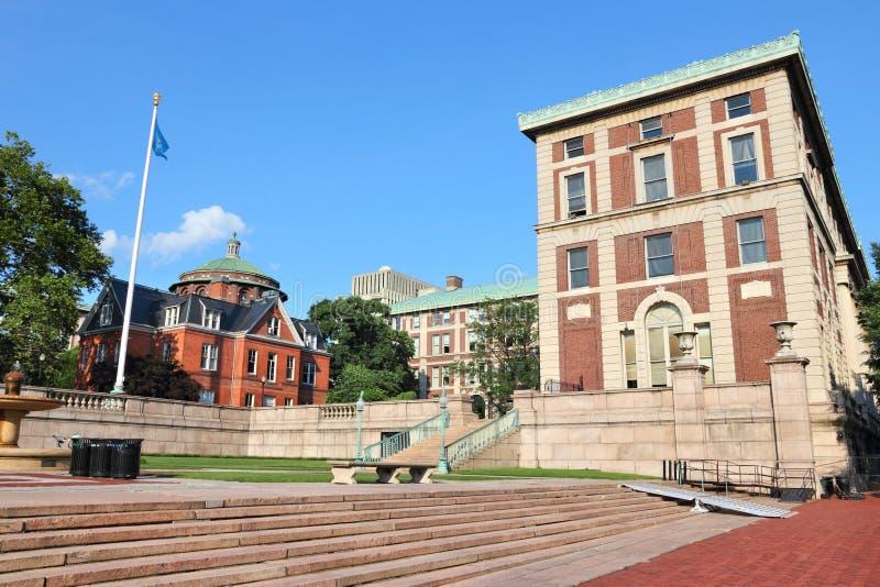Universität von Columbias-Campus lizenzfreie stockfotografie