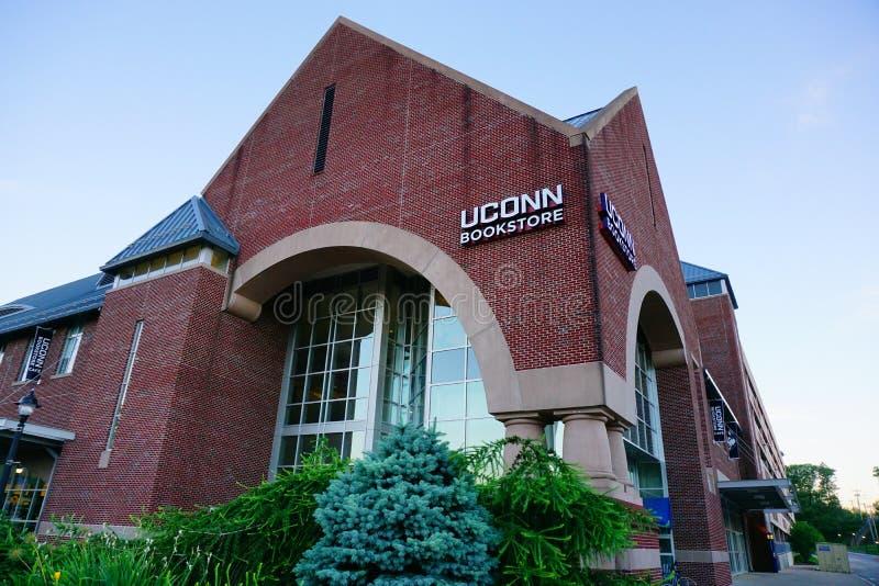 Universität von Connecticut-Buchhandlung lizenzfreies stockbild