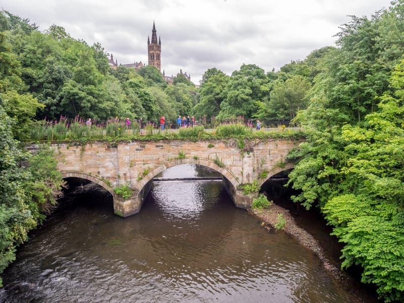 Universität von Glasgow lizenzfreies stockbild