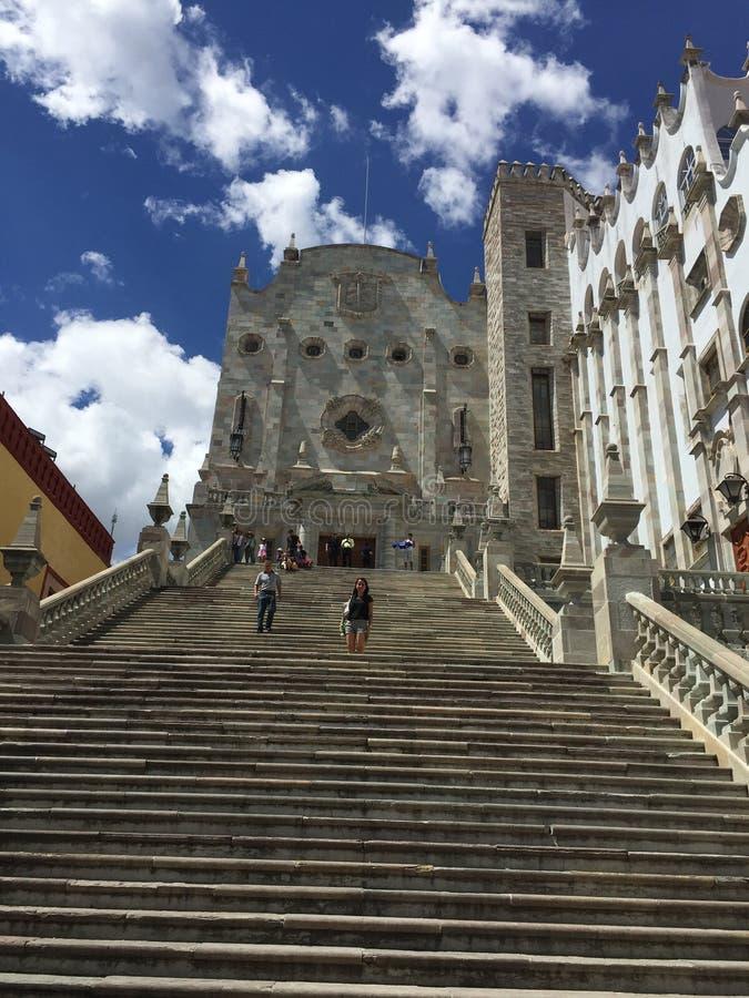 Universität von Guanajuato lizenzfreie stockfotos