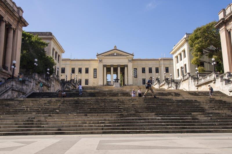 Universität von Havana - Kuba lizenzfreies stockbild