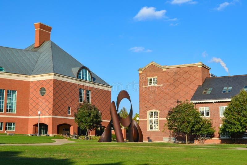 Universität von Illinois-Campus lizenzfreies stockbild