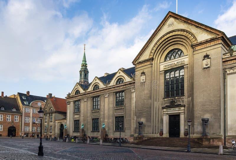 Universität von Kopenhagen stockbild
