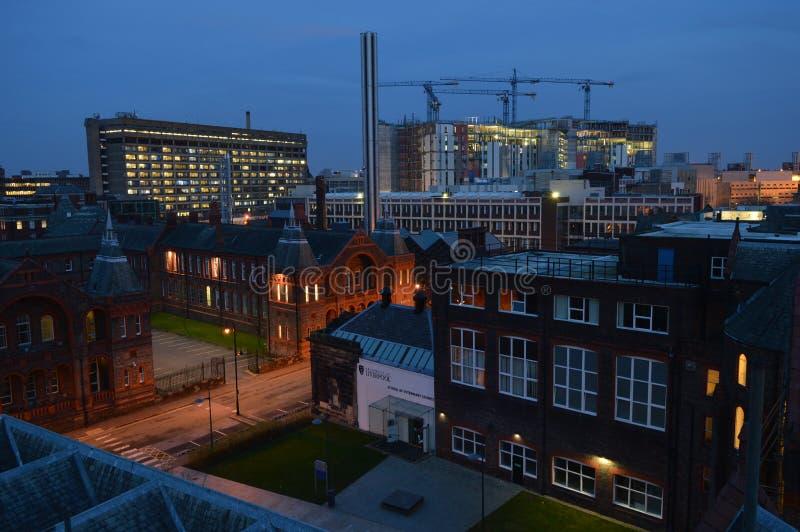 Universität von Liverpool stockfotos
