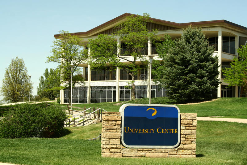 Universität von Nordkolorado lizenzfreies stockbild