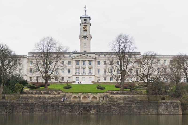 Universität von Nottingham stockbilder