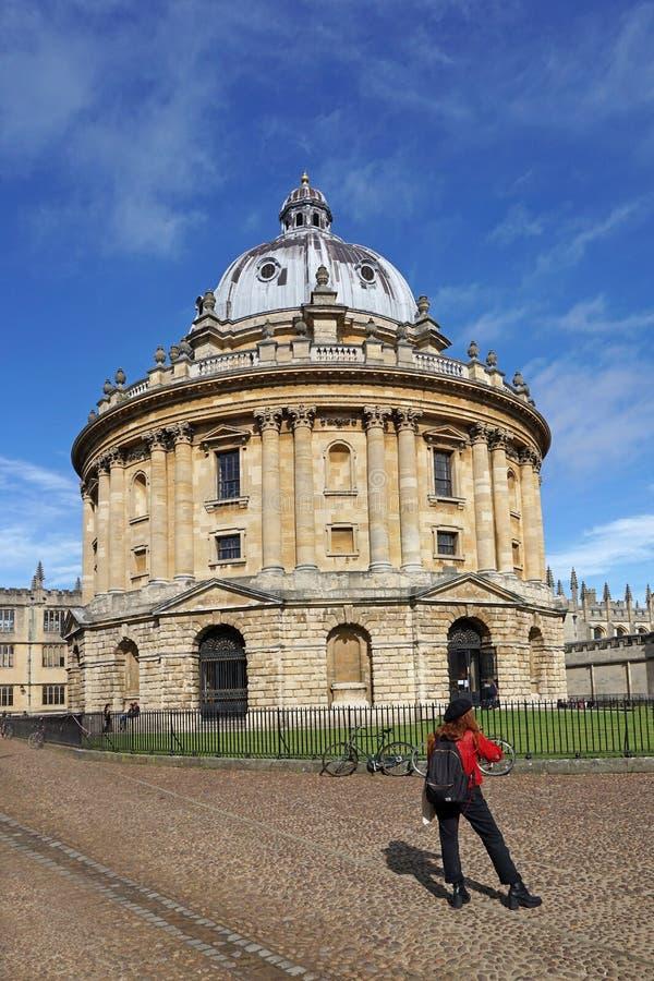 Universität von Oxford stockfotos